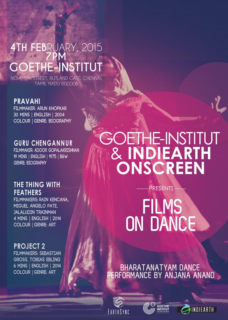 Poster - Films on Dance